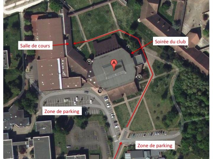 Gymnase - plan general